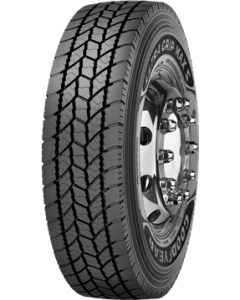 Kuorma-auton rengas 385/55R22.5 Goodyear UltraGrip Max S 156L/150M 156L154M 3PS